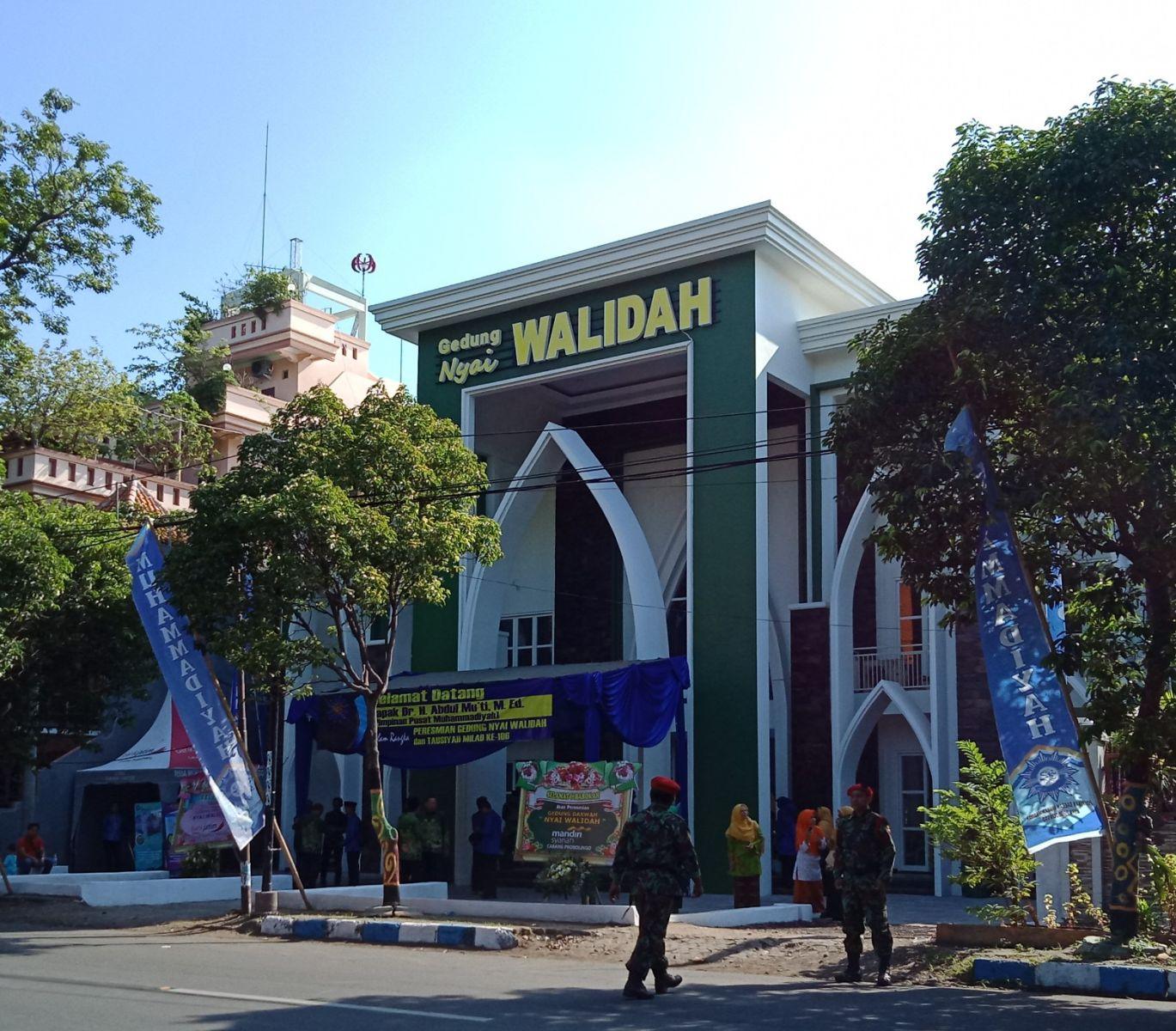 Gedung Nyai Walidah yang diresmikan pada tanggl 13 Januari 2019, berlokasi di Jl. Mayjen Pandjaitan No. 51 Kota Probolinggo
